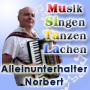 Alleinunterhalter und Musiker Norbert Schindlegger
